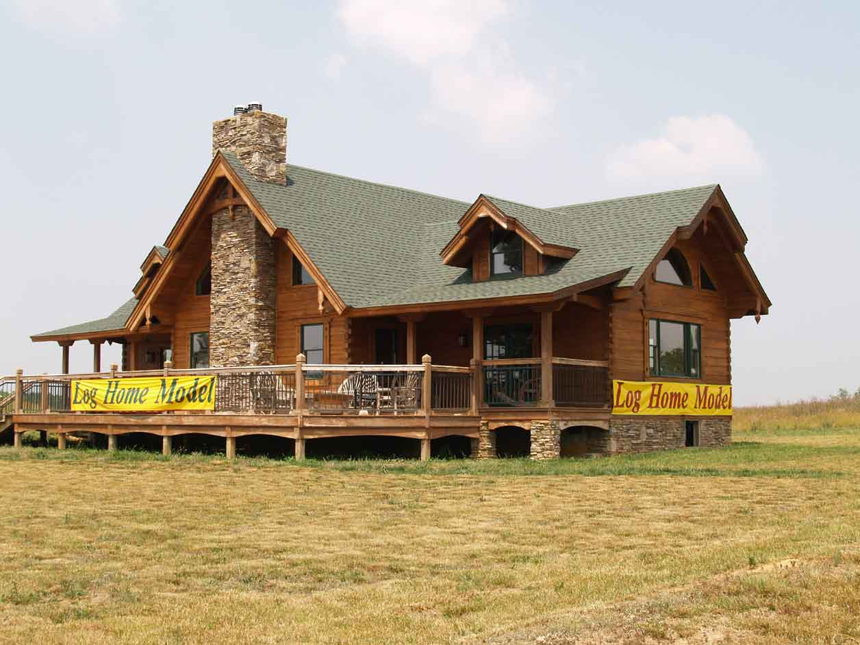 Designing manufacturing and building the best log homes for Cypress log home prices